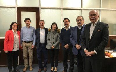 REUNION EN EL MINISTERIO DE PRODUCCION y TRABAJO