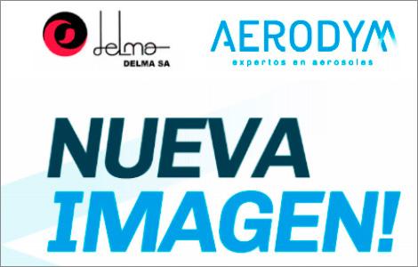 Nueva Imagen! ahora DELMA es AERODYM (Aerosoles, desarrollo y manufactura)