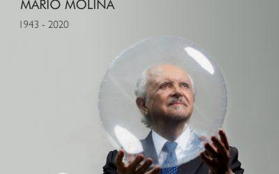 FALLECIMIENTO DEL PREMIO NOBEL MARIO MOLINA